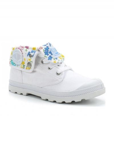 Женские ботинки Palladium Baggy Low LP 93314-124 белые