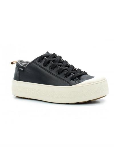 Кожаные женские ботинки Palladium S_U_B LACE LTH 95766-039 черные