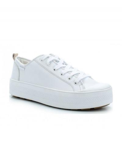Кожаные женские ботинки Palladium S_U_B LACE LTH 95766-123 белые