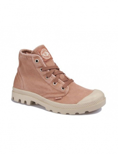 Женские ботинки Palladium Pampa Hi 92352-604 коричневые