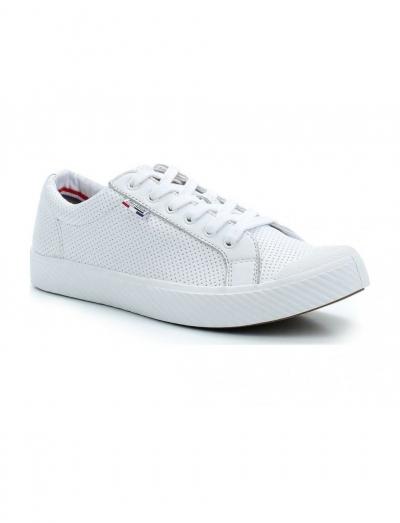 Кожаные женские ботинки Palladium Pallaphoenix OG LTH 75734-100 белые